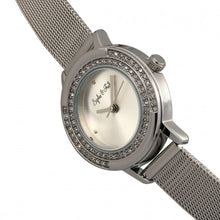 Load image into Gallery viewer, Sophie & Freda Cambridge Bracelet Watch w/Swarovski Crystals - Silver - SAFSF4101