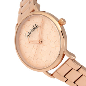 Sophie & Freda Breckenridge Bracelet Watch - Rose Gold - SAFSF4703