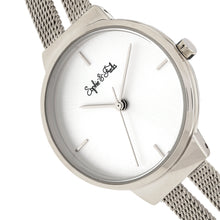 Load image into Gallery viewer, Sophie and Freda Sedona Bracelet Watch - Silver - SAFSF5301