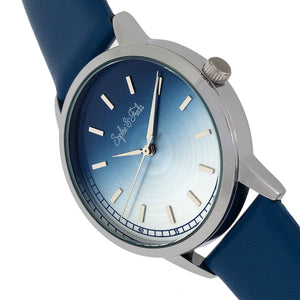Sophie and Freda San Diego Leather-Band Watch - Blue - SAFSF5102