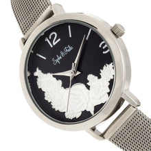 Load image into Gallery viewer, Sophie and Freda Lexington Bracelet Watch - Silver/Black - SAFSF5201
