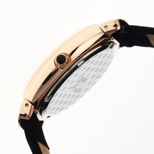 Load image into Gallery viewer, Sophie & Freda New Orleans MOP Leather-Band Watch - Rose Gold/Black - SAFSF4008