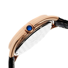 Load image into Gallery viewer, Sophie & Freda Austin MOP Swiss Ladies Watch - Rose Gold/Black - SAFSF2904