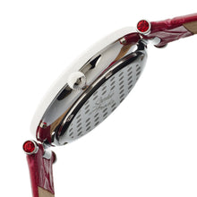 Load image into Gallery viewer, Sophie & Freda Kew Leather-Band Ladies Watch - Red - SAFSF1802