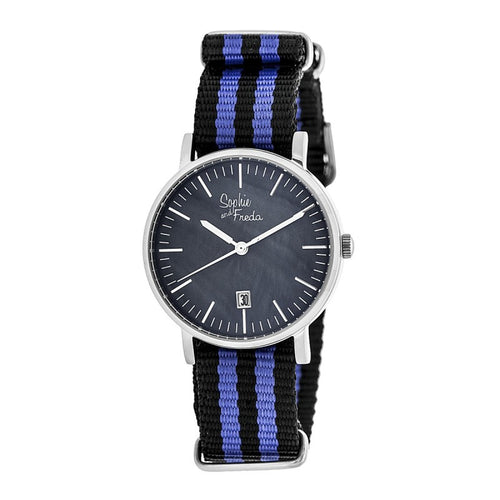 Sophie & Freda Nantucket Nylon-Band Ladies Watch - SAFSF3303