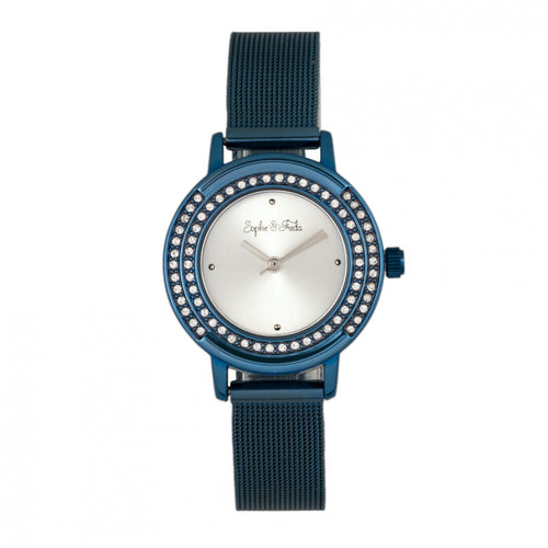 Sophie & Freda Cambridge Bracelet Watch w/Swarovski Crystals - SAFSF4104