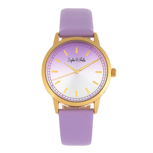 Sophie and Freda San Diego Leather-Band Watch - SAFSF5104