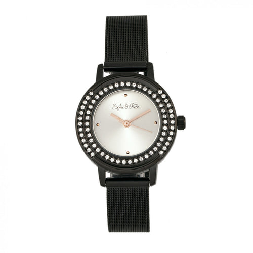 Sophie & Freda Cambridge Bracelet Watch w/Swarovski Crystals - SAFSF4103