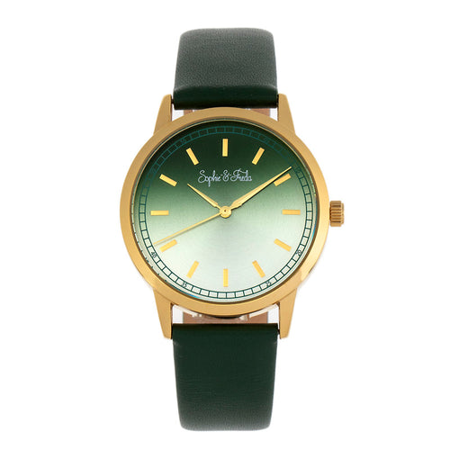 Sophie and Freda San Diego Leather-Band Watch - SAFSF5103