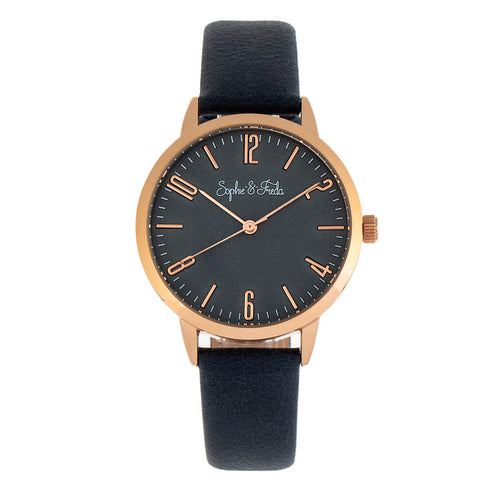 Sophie and Freda Vancouver Leather-Band Watch - SAFSF4905