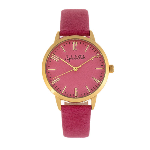 Sophie and Freda Vancouver Leather-Band Watch - SAFSF4903