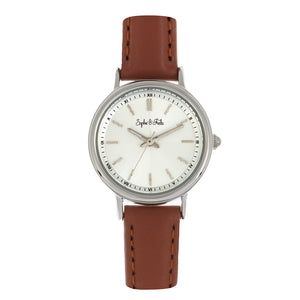 Sophie & Freda Berlin Leather-Band Watch - Brown - SAFSF4802
