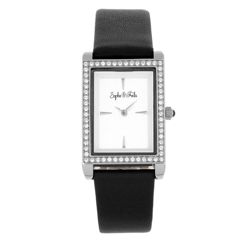 Sophie and Freda Wilmington Bracelet Watch w/Swarovski Crystals - SAFSF5604