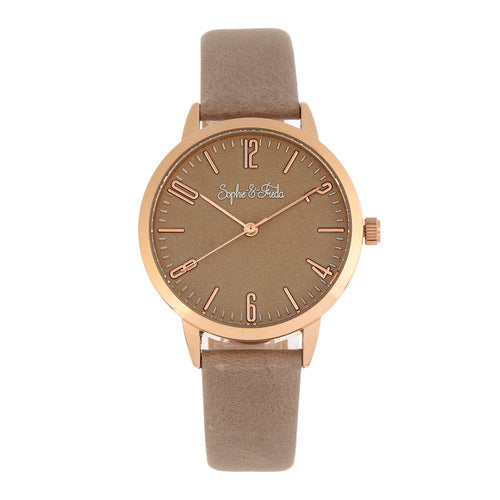 Sophie and Freda Vancouver Leather-Band Watch - SAFSF4904