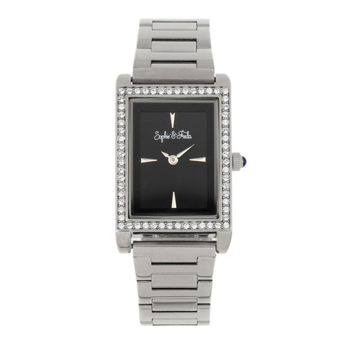Sophie and Freda Wilmington Bracelet Watch w/Swarovski Crystals - SAFSF5601