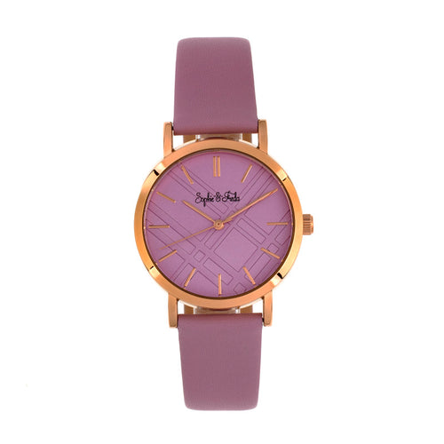 Sophie and Freda Budapest Leather-Band Watch - SAFSF5005