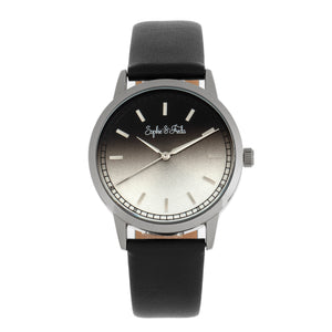 Sophie and Freda San Diego Leather-Band Watch - Black - SAFSF5101
