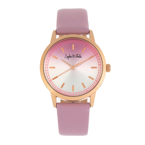 Sophie and Freda San Diego Leather-Band Watch - SAFSF5106