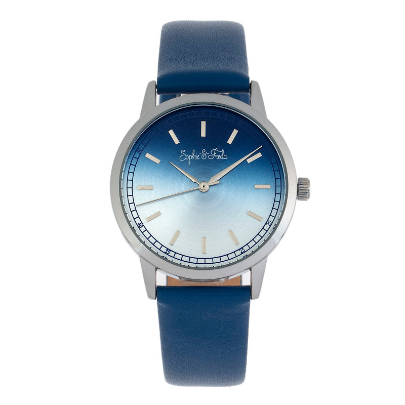 Sophie and Freda San Diego Leather-Band Watch