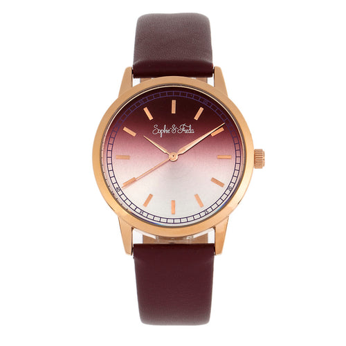 Sophie and Freda San Diego Leather-Band Watch - SAFSF5105