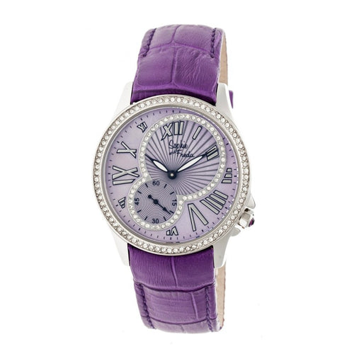 Sophie & Freda Toronto Leather-Band Ladies Watch - SAFSF2804
