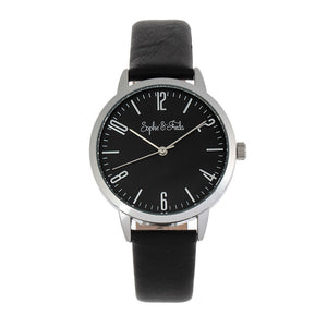 Sophie and Freda Vancouver Leather-Band Watch