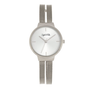 Sophie and Freda Sedona Bracelet Watch - Silver - SAFSF5301