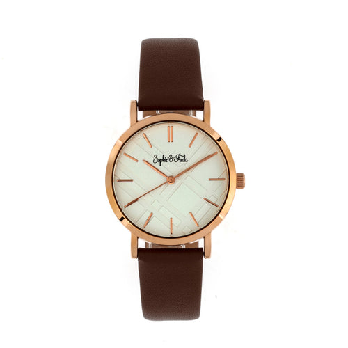 Sophie and Freda Budapest Leather-Band Watch - SAFSF5004