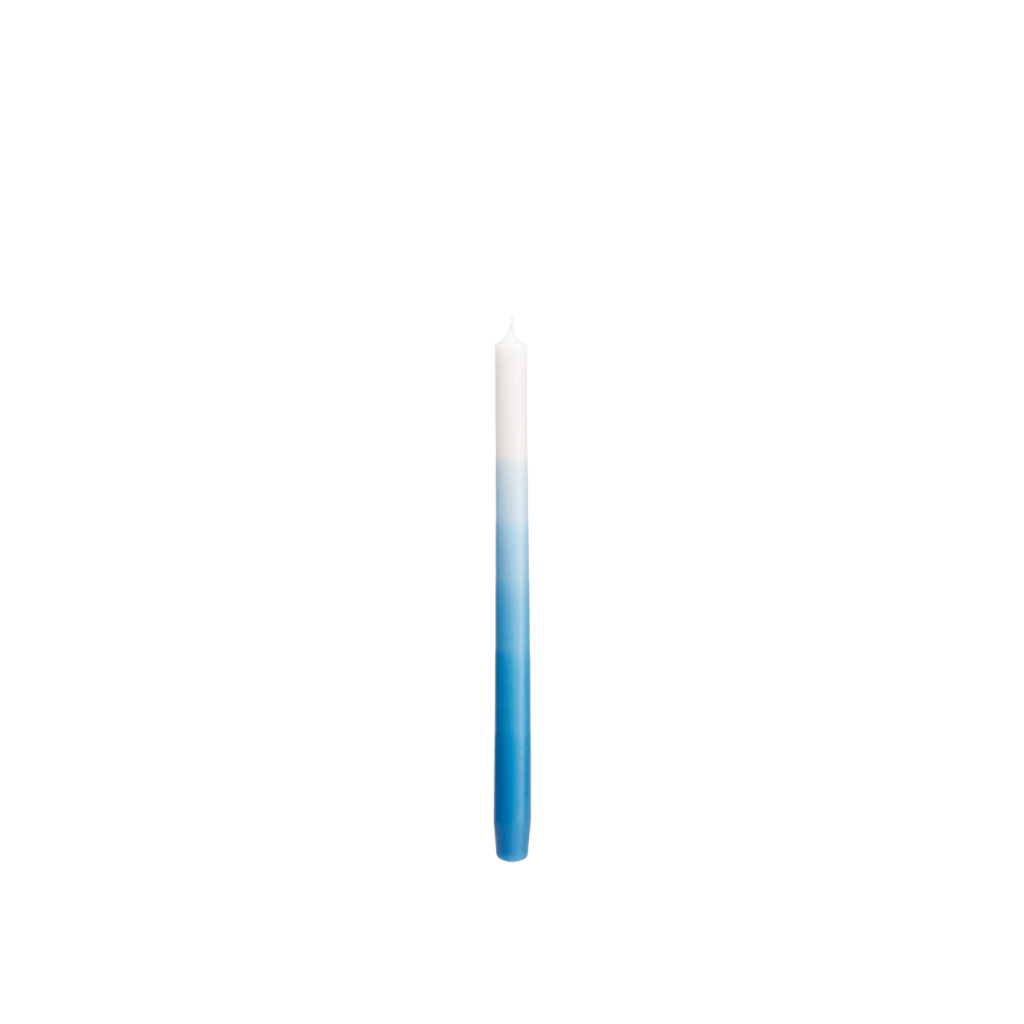 Denim Blue Gradient Candle