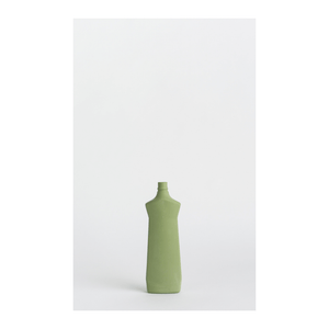 Dark Green #1 Porcelain Bottle Vase