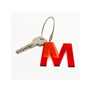 M - Recycled Keychain ABC