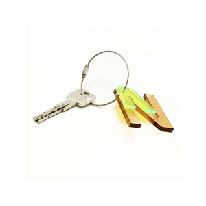 N - Recycled Keychain ABC