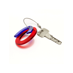 O - Recycled Keychain ABC