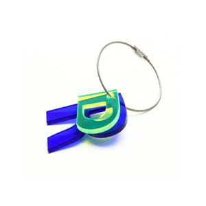 R - Recycled Keychain ABC