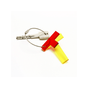 T - Recycled Keychain ABC