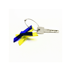 X - Recycled Keychain ABC