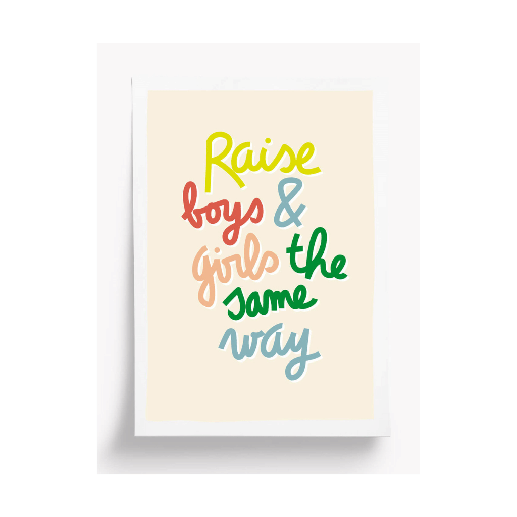 Boys and Girls Print