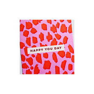 """Happy You Day"" Card"
