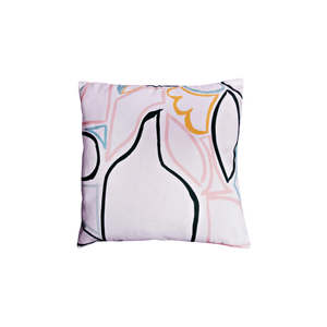 Pastel Shapes Cushion Cover
