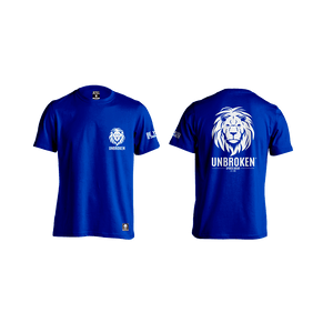 Unbroken Lion classic blue - Unbroken Sports Wear