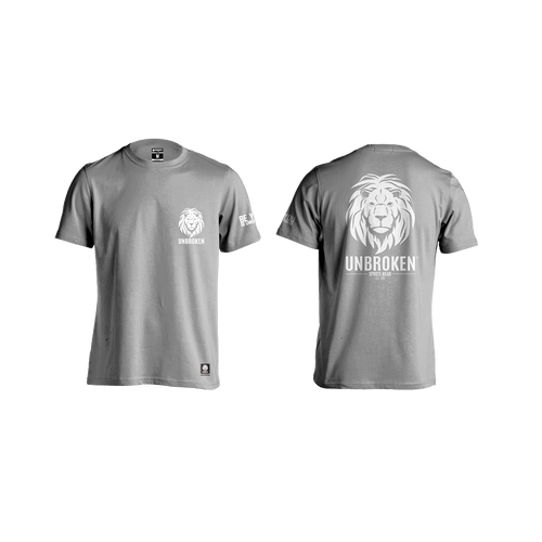 Unbroken Lion classic grey - Unbroken Sports Wear