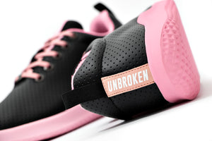Tenis Unbroken Spirit One negro rosado - Unbroken Sports Wear