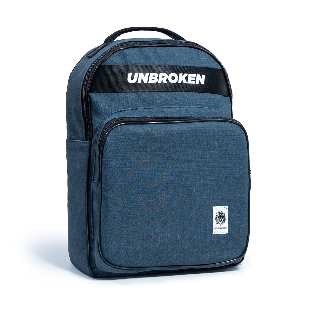Morral Azul - backpack deportivo unbroken