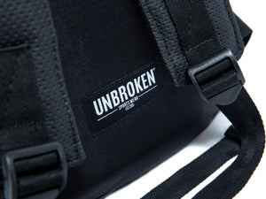 Morral negro - backpack deportivo unbroken