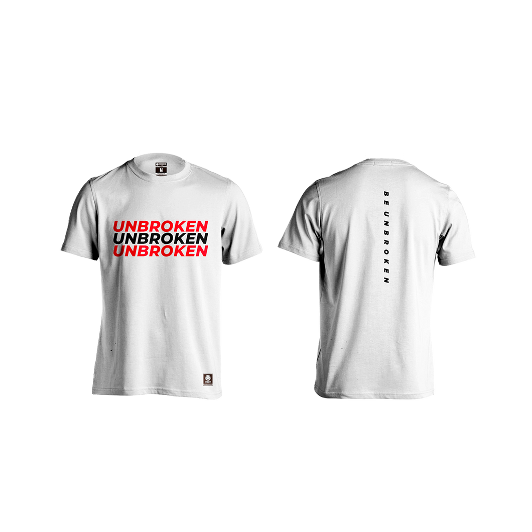 Camiseta hombre color blanco Unbroken saturn