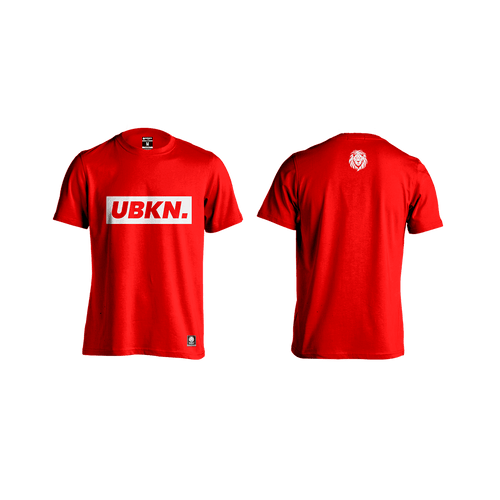 Camiseta topic Red - Unbroken Sports Wear