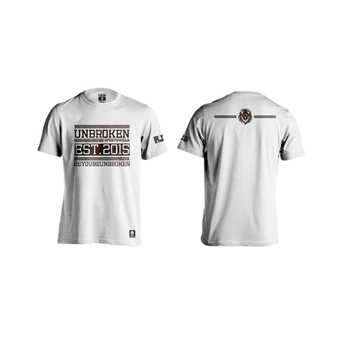 Unbroken Classic passion White - Unbroken Sports Wear