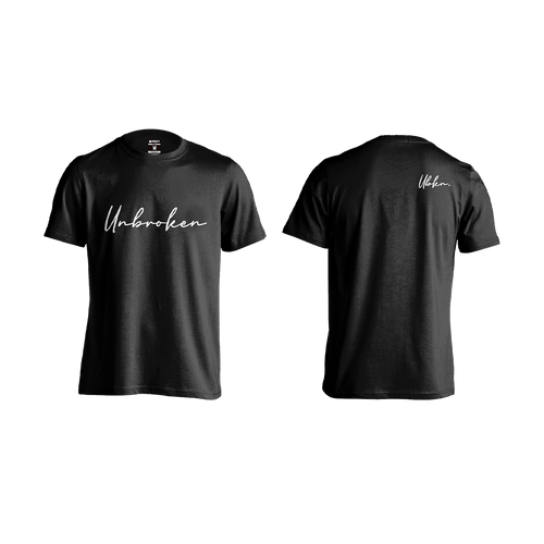 Camiseta Hombre Unbroken Signature black - Unbroken Sports Wear