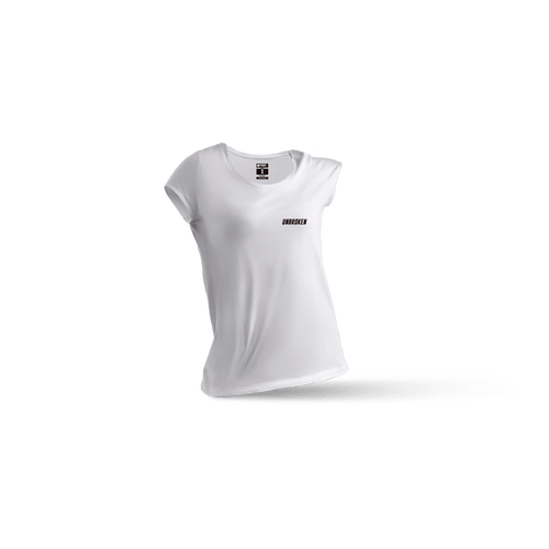 Camiseta Basic White mujer - Unbroken Sports Wear