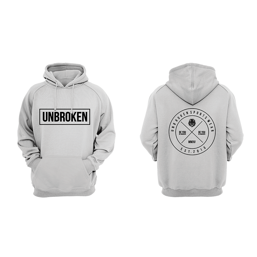 Hoodie Unbroken Circle - Unbroken Sports Wear